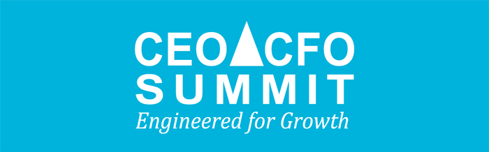 CEO CFO Summit banner.